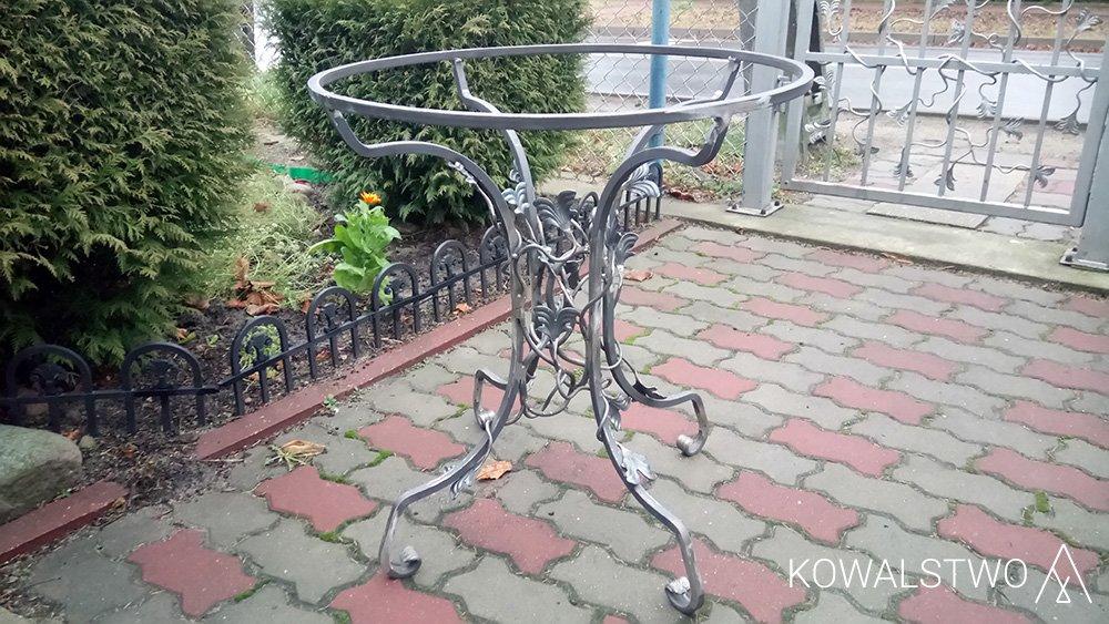 Meble Ogrodowe Metalowe Kute Kowalstwo Artystyczne A